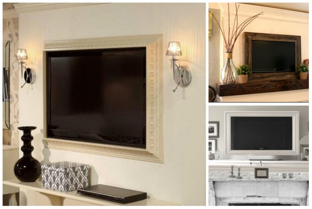 Декор телевизора